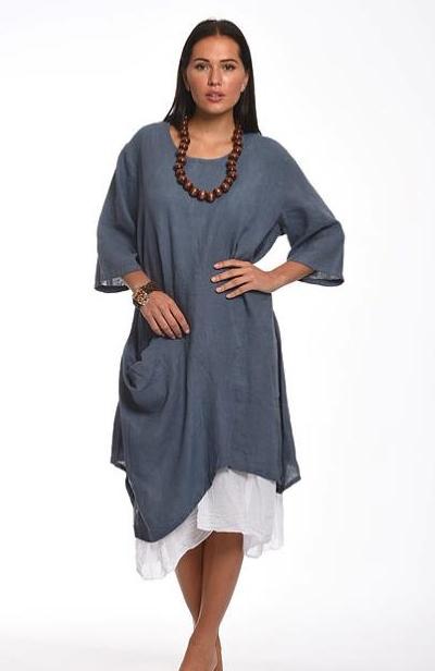 2 Piece Linen Dress