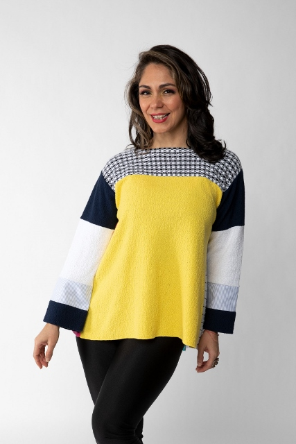 Margaret Winters Reversible Sweater