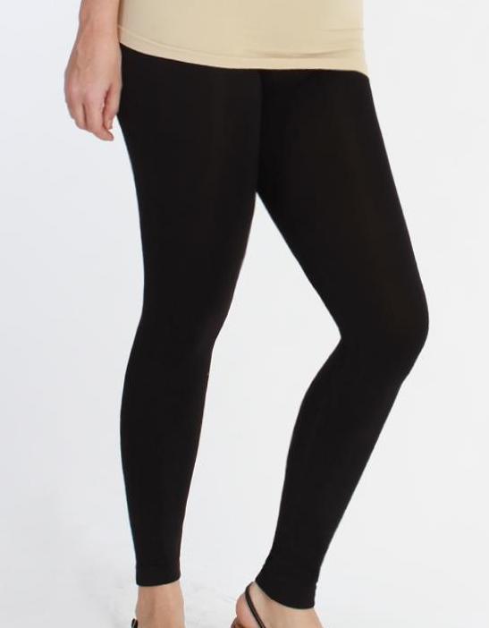 Plus Size Long Ankle Leggings