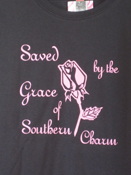 Saved by the Grace Sassy Tee
