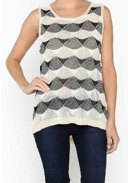 Knit Sleeves Top