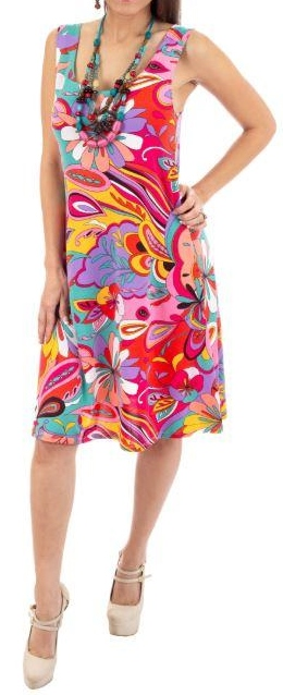 Sleeveless, Packable, Breathable, Fashionable Dress