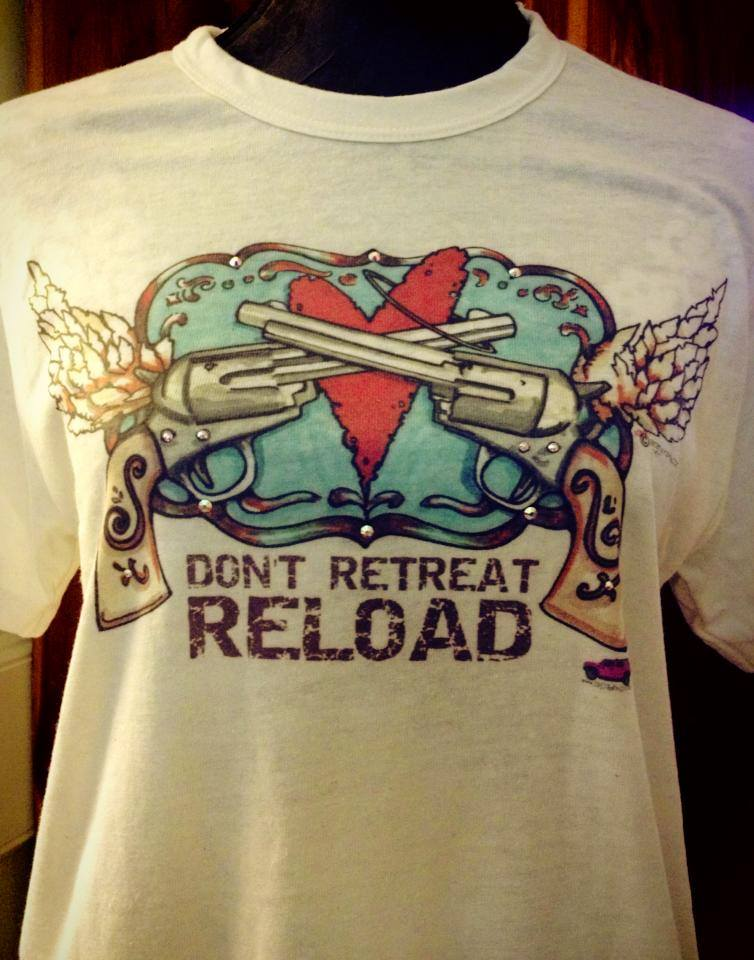 Don't Retreat RELOAD Blinged Tee