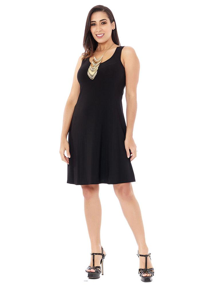Sleeveless, Fashionable Little Black Dress