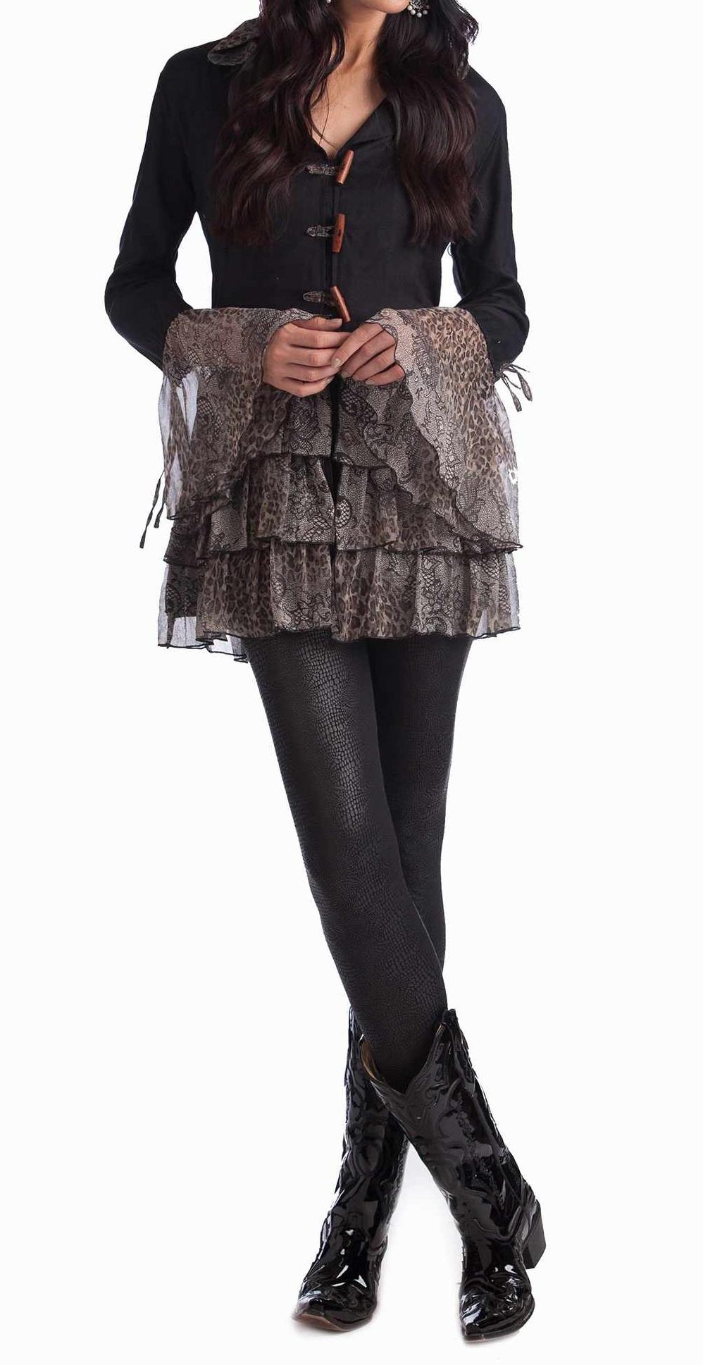 Lacey Leopard Jacket