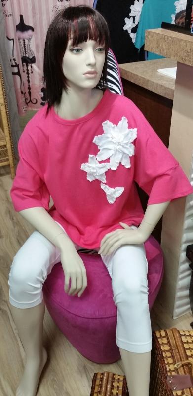 Detailed Flower Shirt