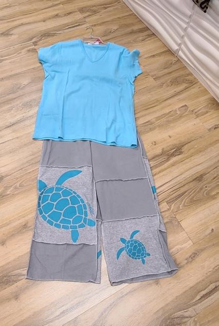 Artist Sea Turtle Beach Pants