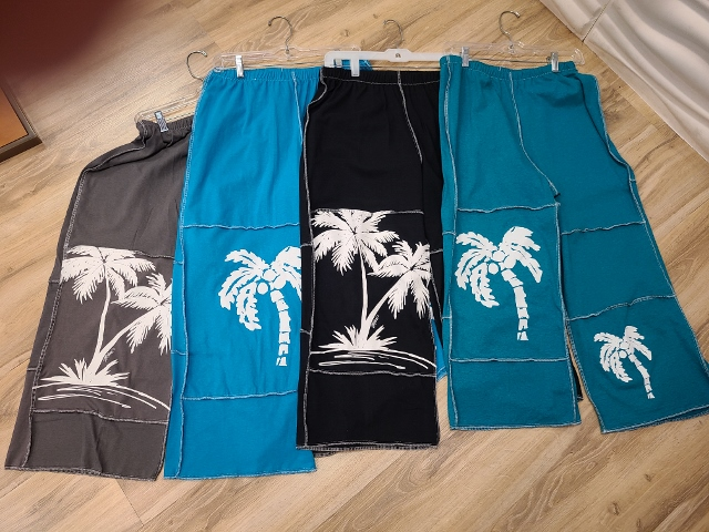 Artist Palm Tree Beach Pants