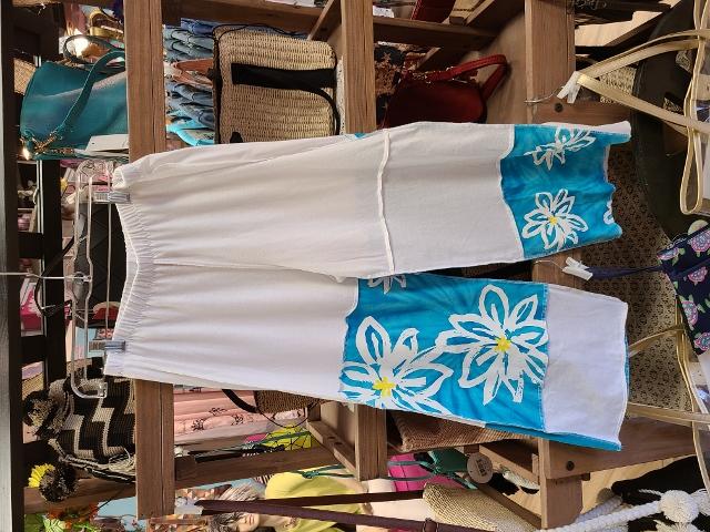 Artist Flower Beach Pants