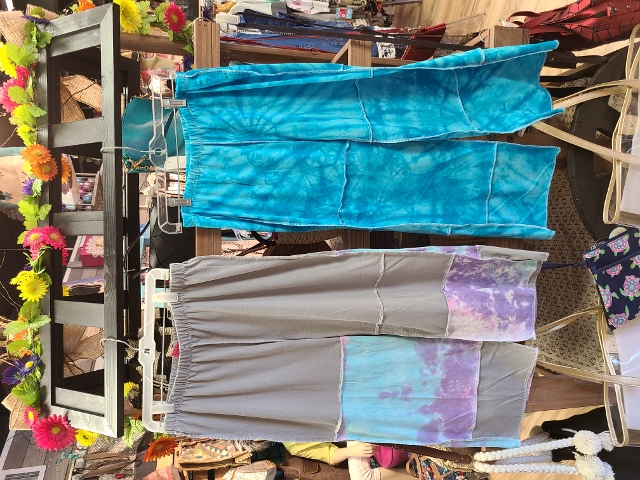 Artist Tie Dye Beach Pants