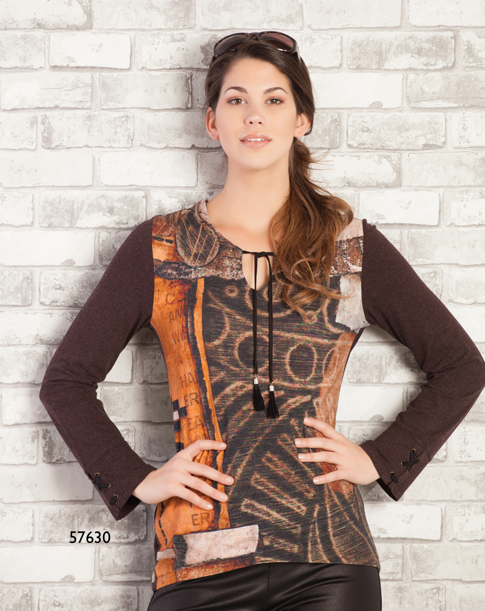 Dolcezza Simply Art Tunic