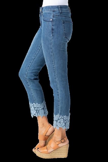 Lace Bottom Jean