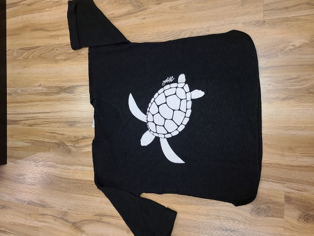 One Size Artsy Painted Sea Turtle Sweaters