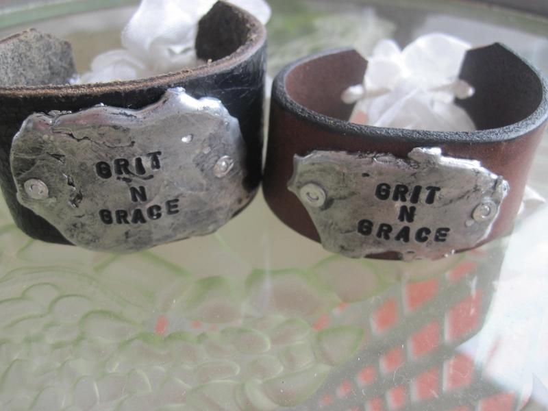 Grit N Grace Molton Metal Bracelet