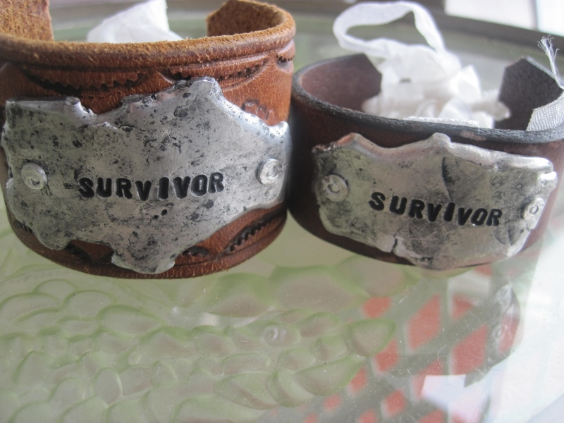 Survivor Molton Metal Bracelet