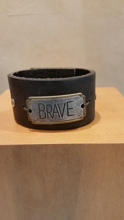 Brave Leather Bracelet