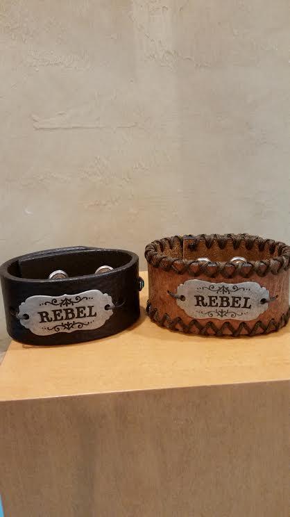Rebel Leather Bracelet