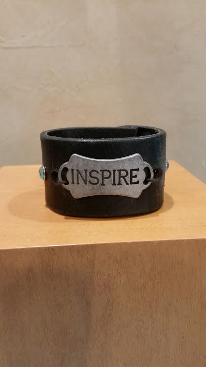 Inspire Leather Bracelet