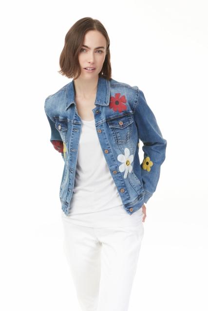 Flower Power Denim Jacket