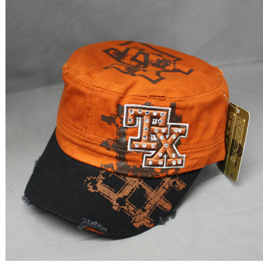 Texas Cadet Worn Tattered Look Hat