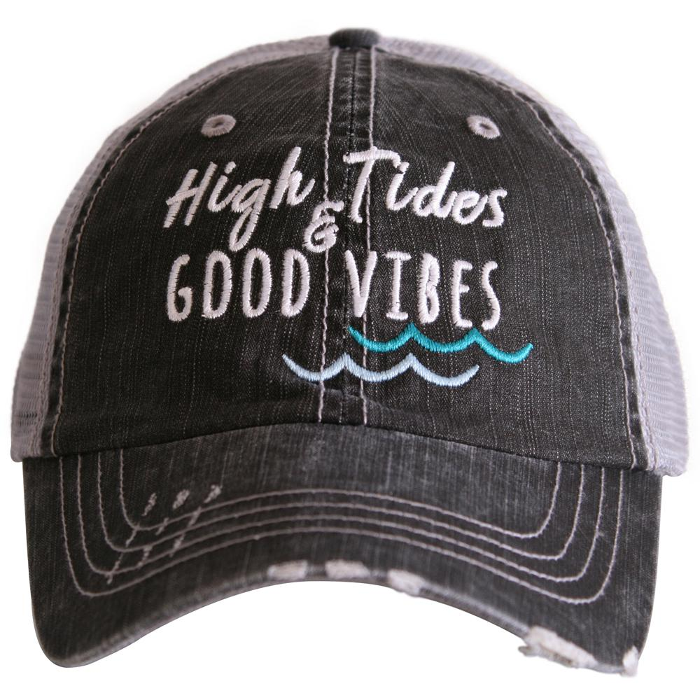 High Tides & Good Vibes Trucker Caps