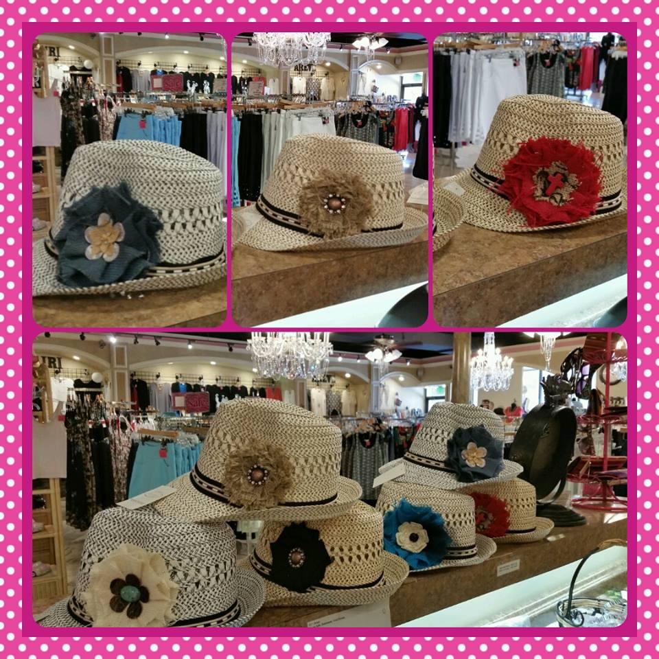 Sassy Fedora Hats