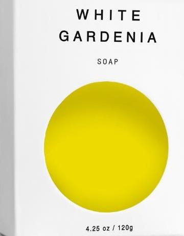 White Gardenia Vegan Soap