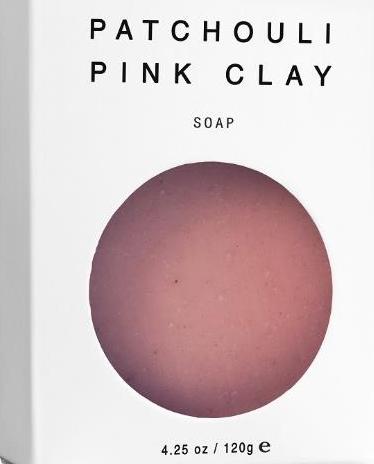 Patchouli Pink Clay Vegan Soap