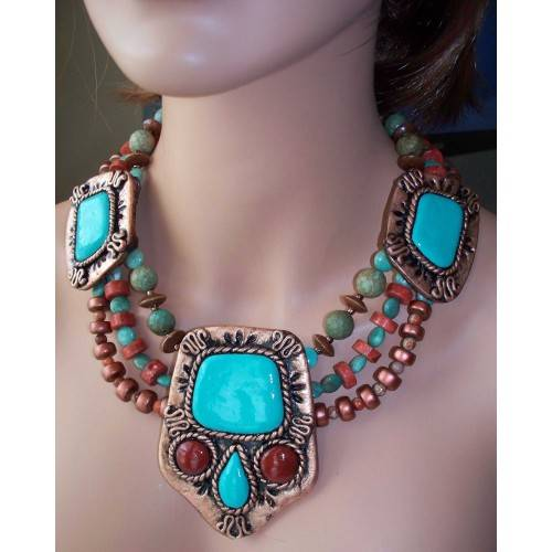 BEAUTIFULAyita Necklace in Copper