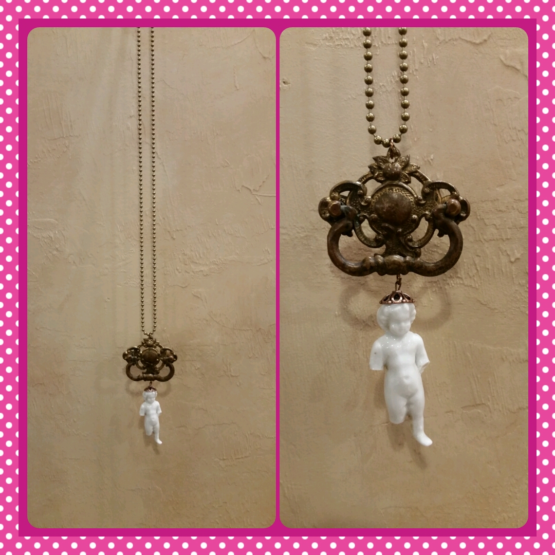 Pink Cadillac Cowgirl Necklace