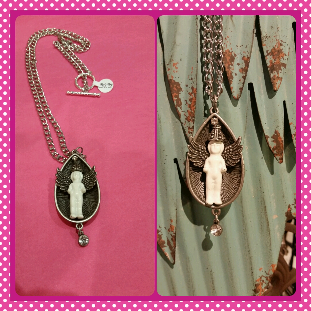 Frozen Charlotte Charmed Necklace