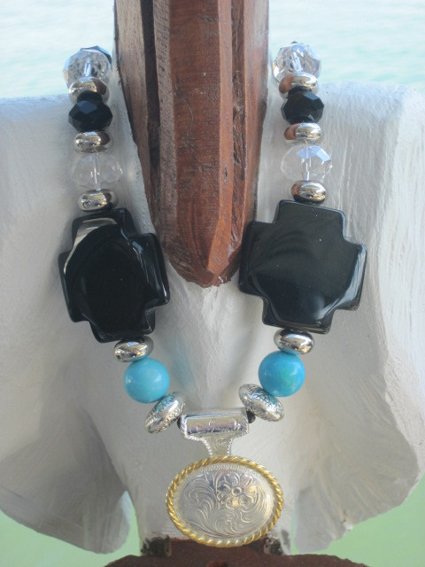 Real Deal Concho Necklace