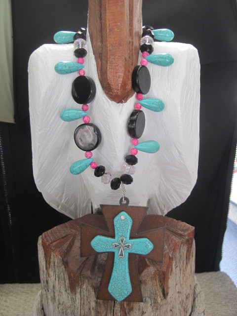 Turquoise Lovers Necklace