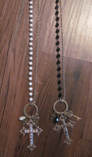 Charmed Cross Necklace