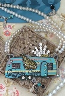 Glamping (Glamours + Camping) Queen Necklace