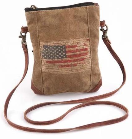 Flag Crossbody Bag