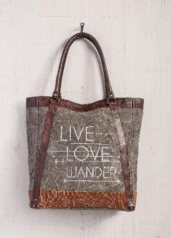 Live Love Wander Tote Bag
