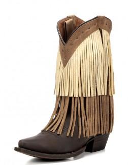 Redneck Riviera Sugar Sand Fringe Boots