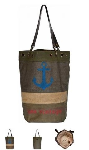 USA Vintage Bucket Style Tote